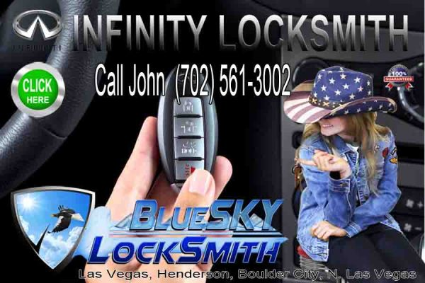 Infinity Keys Remotes Call today. 702 561-3002